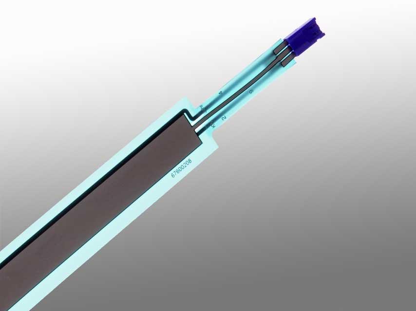 Sensofoil PET-Hybrid with Standard Deflex Connector.
